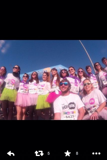 8.000 runners dieron color a la HOLI RUN Murcia Carnival Edition - 2, Foto 2