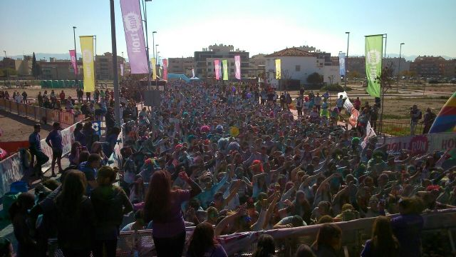 8.000 runners dieron color a la HOLI RUN Murcia Carnival Edition - 4, Foto 4