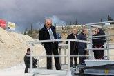 El presidente Garre inaugura un nuevo tanque de tormentas en Abanilla que protegerá al río Chícamo de la contaminación