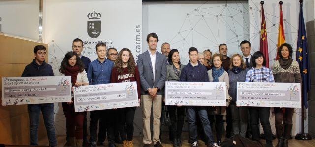 Juan Carlos Ruiz recibe a los ganadores de la IV Olimpiada de Creatividad - 1, Foto 1