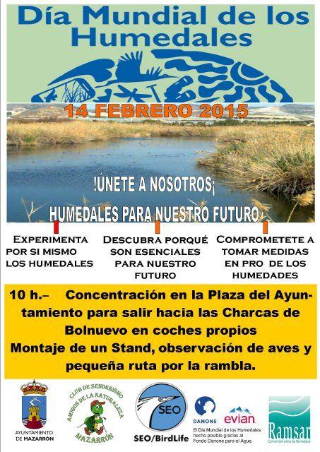 Medio Ambiente y Amigos de la Naturaleza celebran el Día Mundial de los Humedales, Foto 1