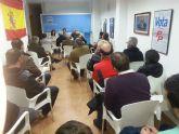 El pasado lunes en la sede del PP de Alhama, tuvo lugar una charla sobre la conservaci�n y mejora de los espacios naturales