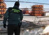 La Guardia Civil desmantela una organización delictiva dedicada a la sustracción de botellas de butano