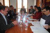 Joaquín Bascuñana y María Antonia Conesa destacan la importancia de la coordinación y colaboración entre Guardia Civil y Polícía Local en un término municipal tan extenso