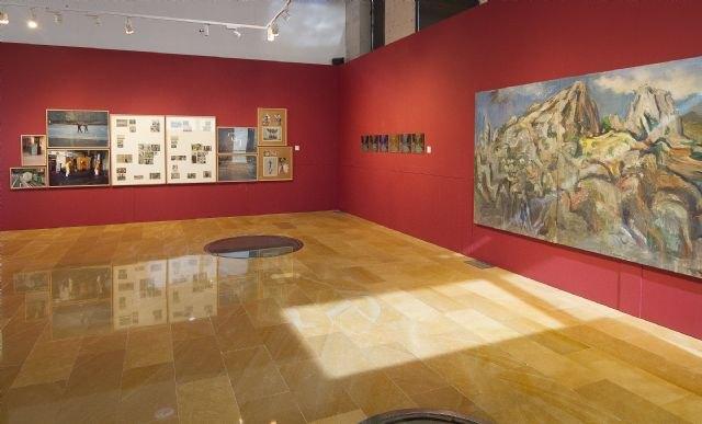 Alhama de Murcia acoge la exposición ´Naturaleza construida´ dentro del proyecto ´Itinerarios´ de Cultura, Foto 1