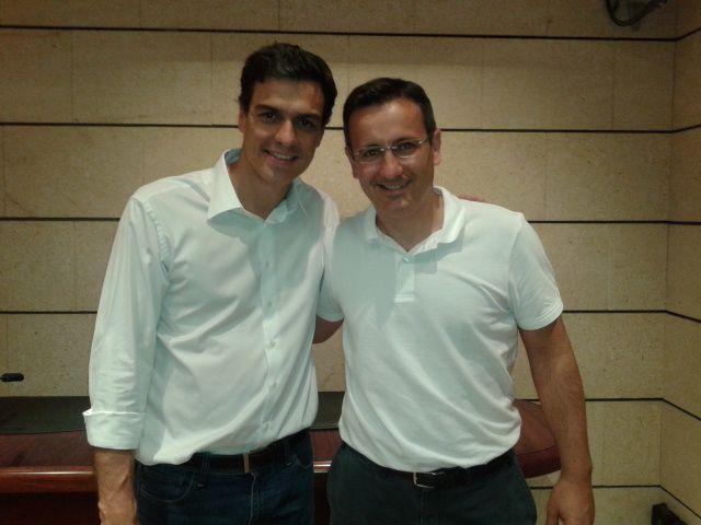 Pedro Sánchez se compromete con la Región de Murcia y envía un saludo a Alhama junto a Diego Conesa, Foto 5