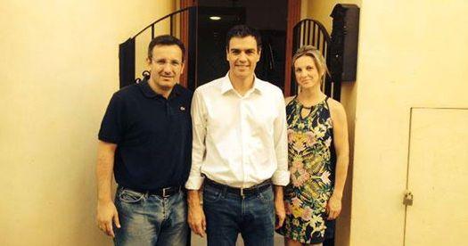 Pedro Sánchez se compromete con la Región de Murcia y envía un saludo a Alhama junto a Diego Conesa, Foto 6