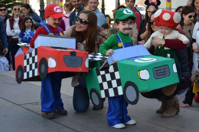 Los pequeños pinatarenses dan la bienvenida al Carnaval en una fiesta infantil - 2, Foto 2