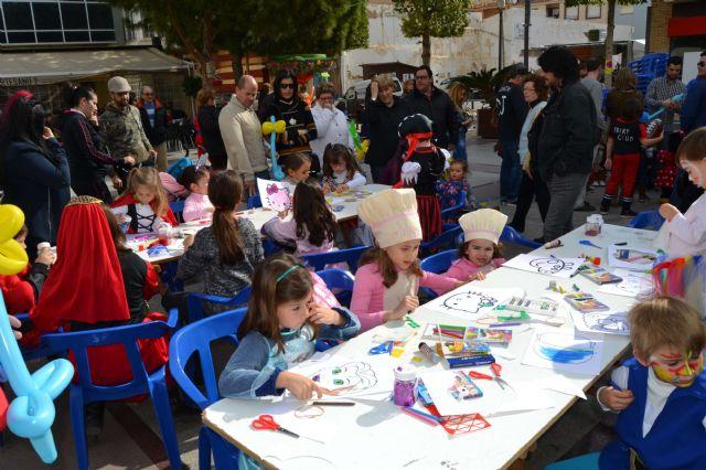 Los pequeños pinatarenses dan la bienvenida al Carnaval en una fiesta infantil - 3, Foto 3