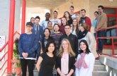 Un grupo de jóvenes holandeses realiza en el CIFEA de Molina de Segura un curso de formación agroalimentaria