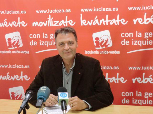 Saorín: IU-Verdes es la opción que garantiza el cambio en Cieza - 1, Foto 1