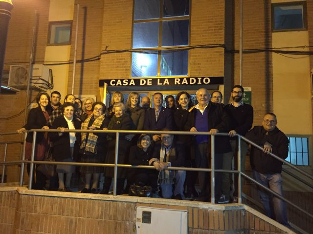 El estudio de la Radio Municipal de Torre-Pacheco lleva el nombre de Lali Jiménez, la primera bibliotecaria municipal e Hija Predilecta del municipio - 1, Foto 1