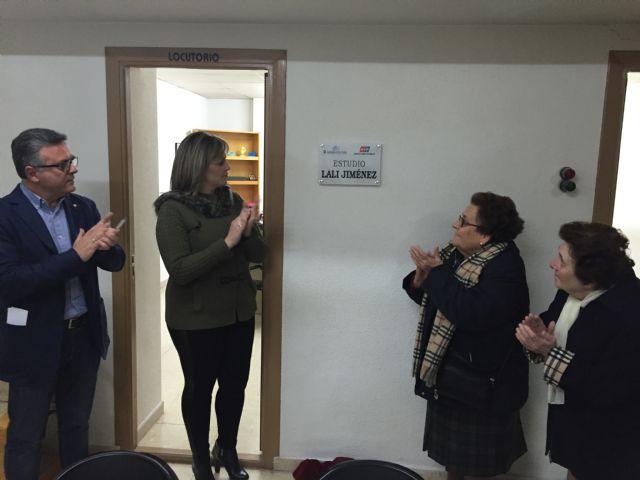 El estudio de la Radio Municipal de Torre-Pacheco lleva el nombre de Lali Jiménez, la primera bibliotecaria municipal e Hija Predilecta del municipio - 2, Foto 2
