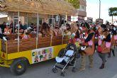 Cientos de personas participan en el desfile de Carnaval de San Pedro del Pinatar