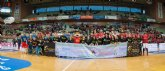 La familia D´genes apoyó al UCAM Murcia CB en su partido frente al CAI Zaragoza