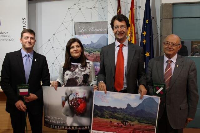 El Gobierno regional impulsa la promoción internacional de la ´Floración en Cieza´ como un espectáculo excepcional de la naturaleza - 1, Foto 1