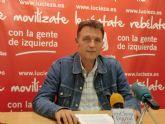 Saorín: 'En enero se ralentiza la destrucción de empleo en Cieza'