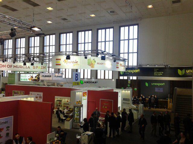 Agricultura toma contacto con nuevos mercados en la feria Fruit Logística de Berlín, Foto 1