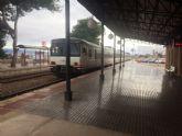 IU acusa a RENFE de recortar los servicios públicos con el cierre de la Venta de Billetes en la Estación de Totana