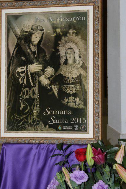 Un Vía Crucis la noche de Lunes Santo amplía los actos de la Semana Santa de Puerto de Mazarrón, Foto 1