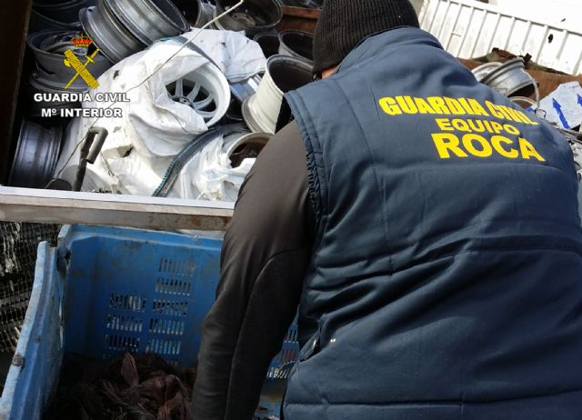 La Guardia Civil desmantela un grupo delictivo dedicado al robo de cable de cobre y transformadores - 2, Foto 2
