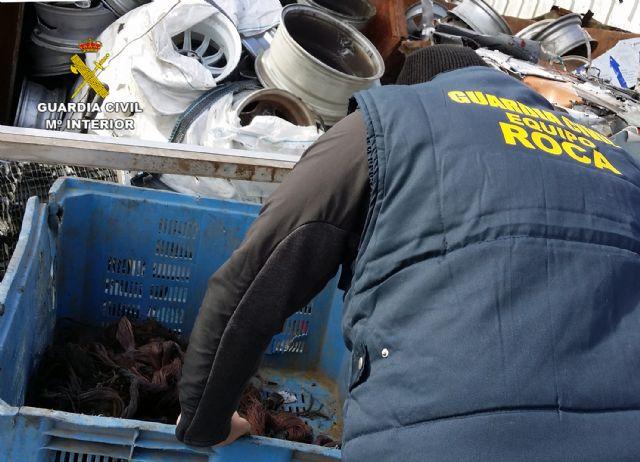 La Guardia Civil desmantela un grupo delictivo dedicado al robo de cable de cobre y transformadores - 3, Foto 3