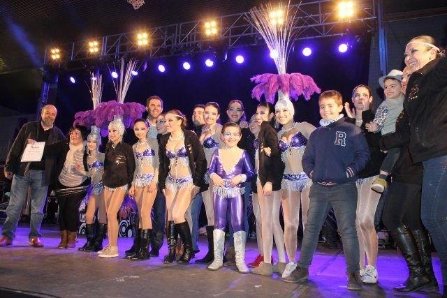 La Peña Olé de Totana gana el desfile de comparsas visitantes de Mazarrón, Foto 1