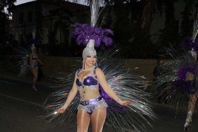 La Peña Olé de Totana gana el desfile de comparsas visitantes de Mazarrón, Foto 2