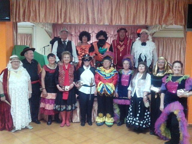 Los mayores celebran el Carnaval en los hogares del pensionista - 1, Foto 1