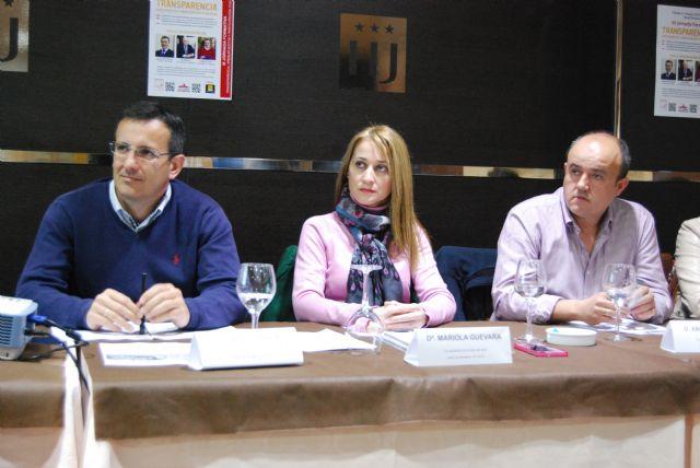 Diego Conesa expresa su compromiso de mantener una gestión transparente y participativa en Alhama durante la tercera Jornada Formativa del PSOE, Foto 5