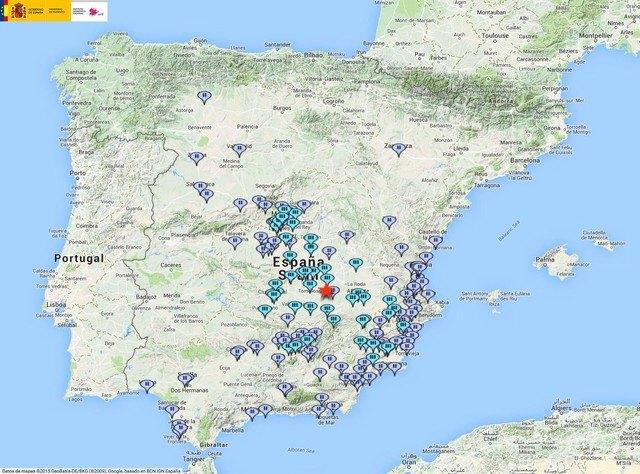 Un terremoto de 5,4 grados con epicentro en Albacete sacude a la Región de Murcia, Foto 1