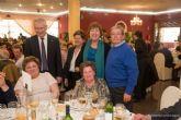Los mayores del municipio también celebraron el amor