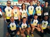 Atletas del Club Atletismo Totana participaron en la carrera 'La San Valentín 2015' celebrada en San Javier