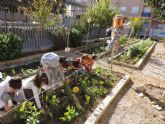 El colegio Infanta Cristina de Puente Tocinos gana el primer premio al huerto escolar ecológico de la región