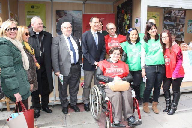 Cámara destaca el trabajo de los voluntarios en una sociedad solidaria como la murciana - 3, Foto 3