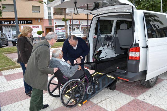 San Pedro del Pinatar cuenta con un taxi adaptado para el transporte de personas con minusvalía - 2, Foto 2