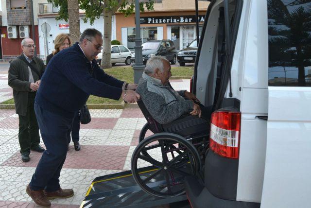 San Pedro del Pinatar cuenta con un taxi adaptado para el transporte de personas con minusvalía - 3, Foto 3