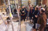 El retablo de Santa Eulalia recuperará su esplendor original tras los trabajos de restauración