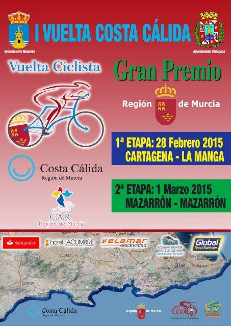 Mazarrón acoge la I edición de la Vuelta Ciclista Costa Cálida, Foto 1