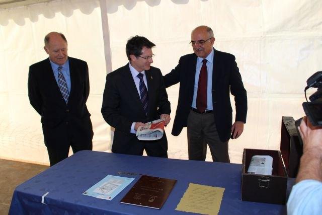 La nueva depuradora de Ramonete tratará las aguas residuales procedentes de cuatro pedanías de la costa de Lorca - 1, Foto 1