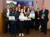 La Universidad de Murcia premia los mejores huertos escolares de la Región