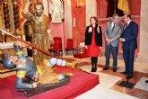 Cultura completa el chequeo del 'Malco' de Salzillo y lo entrega a la Cofradía California de Cartagena