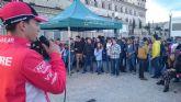 El piloto lorquino de Moto3, Juanfran Guevara, participa en el Beers & Tweets de la UCAM