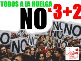 JSTotana anuncia su movilización 'contra el nuevo ataque del PP a la Educación y Universidad Públicas'