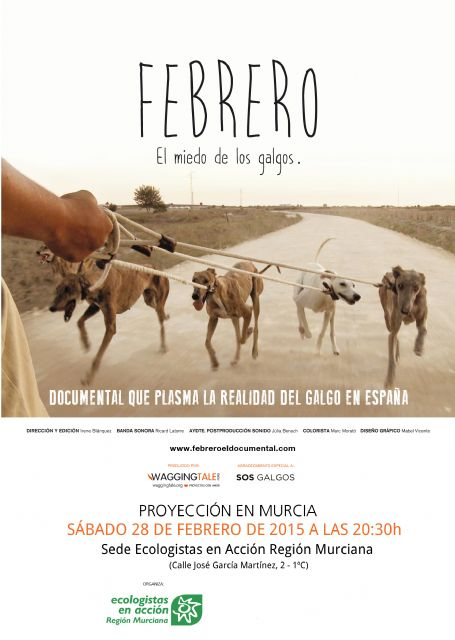 Febrero, el miedo de los galgos se proyecta en Murcia - 1, Foto 1