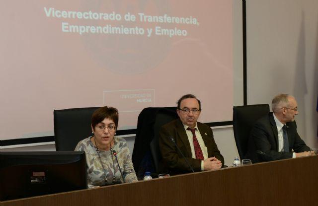La Universidad de Murcia presenta sus acciones para la transferencia de conocimiento y la creación de empleo - 1, Foto 1