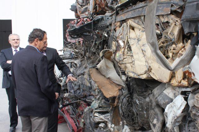 El Alcalde inaugura la primera planta de la región para el tratamiento de residuos electrónicos - 2, Foto 2