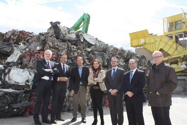 El Alcalde inaugura la primera planta de la región para el tratamiento de residuos electrónicos - 3, Foto 3