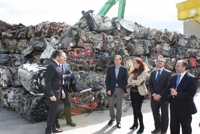 El Alcalde inaugura la primera planta de la región para el tratamiento de residuos electrónicos - 4, Foto 4