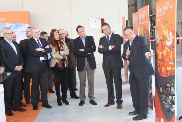 El Alcalde inaugura la primera planta de la región para el tratamiento de residuos electrónicos - 5, Foto 5